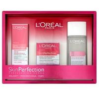 L'OREAL SET Skin Perfection skoncentrowane serum udoskonalajace 30ml + Skin Perfection krem udoskonalajacy 50ml + Ideal Soft plyn micelarny 200ml