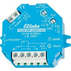 Wyłącznik czasowy Eltaco TLZ61NP-230V+UC, 1 - 12 min., 10 A, 230 V
