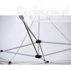 Pawilon Profi, 3x3 automatycznie rozkładany, materiałowy namiot handlowy + 2 ścianki - terakota, pomarańczowy