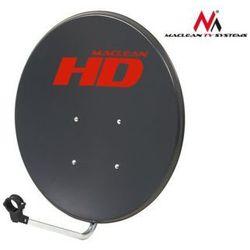 Maclean Antena satelitarna 65cm MCTV-765 ocynk grafit DARMOWA DOSTAWA DO 400 SALONÓW !!