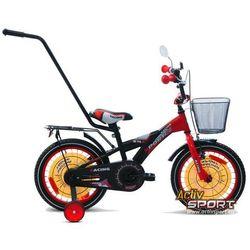 Rower dziecięcy 16 BMX Racing Sport czarno-czerwony - Czarno-czerwony