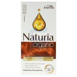 Joanna Naturia Organic Farba do włosów bez amoniaku Płomienny nr 320