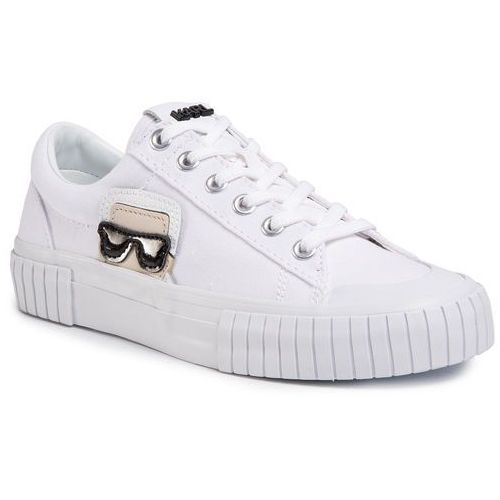 Trampki KARL LAGERFELD - KL60210 White Canvas