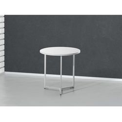 Nowoczesny stolik kawowy biały - ława - stół - 50x50 cm - TRIBECA