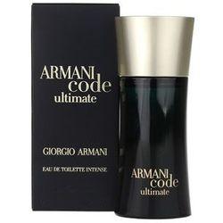 Armani Code Ultimate woda toaletowa dla mężczyzn 50 ml + do każdego zamówienia upominek.