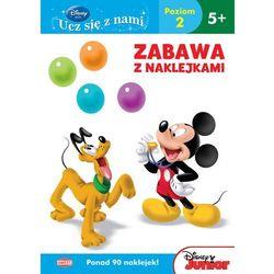 Disney Ucz się z nami. Klub Przyjaciół Myszki Miki. Zabawa z naklejkami - UDS4 (opr. miękka)