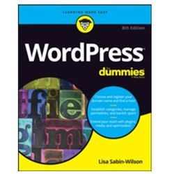 WordPress For Dummies Sabin-Wilson, Lisa