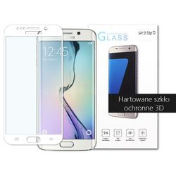 etuo.pl - szkło - Samsung Galaxy S6 Edge - szkło hartowane 3D - biały