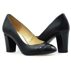 Pantofle Kotyl 7057 Czarne