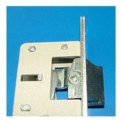 Zamek do drzwi profilowych Jania 90/23 czoło ocynk biały