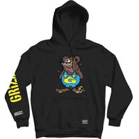 bluza GRIZZLY - Grizzly The Bear Hoodie Blk (BLK)