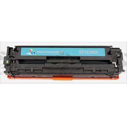 Toner zamiennik DT1215CH do HP Color LaserJet CP1210 CP1215 CP1215n CP1217 CP1510 CP1510j CP1510n CP1515 CP1515n CP1518 CP1518ni CM1312 CM1312mfp, pasuje zamiast HP CB541A 125A Cyan, 1400 stron