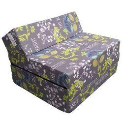 Fotel materac składany 200x70x10 cm - STYLE