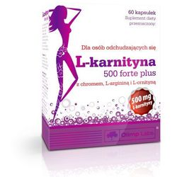 Olimp L-Karnityna Forte Plus 500mg 60 kapsułek