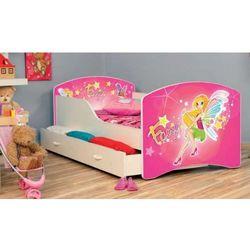 Łóżko parterowe Iga 160x80 + szuflada