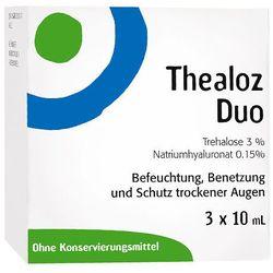Thealoz Duo krople do oczu 3X10 ml