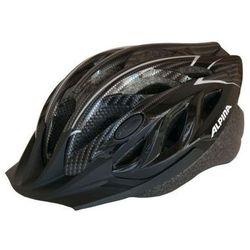 ALPINA Tour 3 - Kask rowerowy, 58-63cm - Black-Carbon (58-63cm)