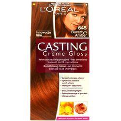 Loreal Paris Casting Creme Gloss Farba do włosów bez amoniaku Bursztyn nr 645