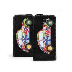 Flip Fantastic - LG X Screen - etui na telefon Flip Fantastic - kolorowy garbus