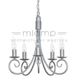 Żyrandol LAMPA wisząca SILVERADO 5417 Nowodvorski świecznikowy ZWIS metalowy IP20 maria teresa srebrny