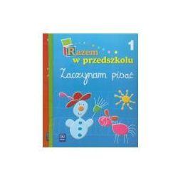 Razem w przedszkolu 5 i 6-latka Zaczynam pisać cz.1 i 2, Zaczynam liczyć BOX Edukacja przedszkolna (opr. broszurowa)