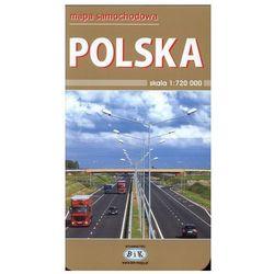 Polska Mapa Samochodowa (opr. miękka)