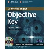 Objective Key, Second Edition, Student's Book (podręcznik) without Answers with CD-ROM (opr. miękka)