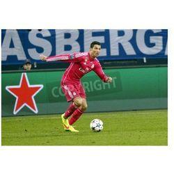 Fototapeta Gelsenkirchen, Niemcy - 18 lutego: Cristiano Ronaldo lors League Mistrzostwa mecz pomiędzy Schalke 04 i Real Madryt