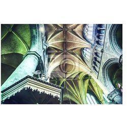Fototapeta łuk gotycki kościół w belgijskiej