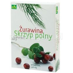 ŻURAWINA + SKRZYP POLNY 48 kapsułek