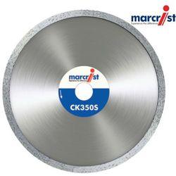 MARCRIST Tarcza diamentowa do glazury, marmuru, granitu CK350S 200x25,4mm segm 5,25mm bez kołnierza (MC1832.1200.25)