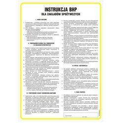 Instrukcja BHP w zakładach spożywczych