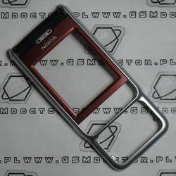 Obudowa Nokia 3230 przednia czerwona