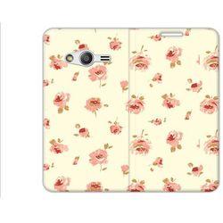 Flex Book Fantastic - Samsung Galaxy Trend 2 Lite - pokrowiec na telefon - roses