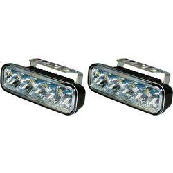 Zestaw lamp samochodowych do jazdy dziennej LED Devil Eyes 610757, 12 V / 24 V