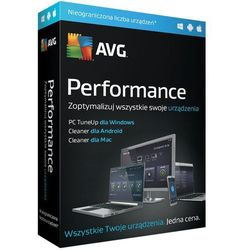 Program AVG Performacne Multidevice (Subskrypcja 1 rok)