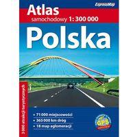 Polska - atlas samochodowy 1:300 000 (opr. miękka)