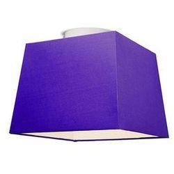 Plafon Ton 30 kwadratowy fioletowy