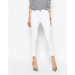 M.i.h. Jeans Niki Cropped Straight Jeans - White