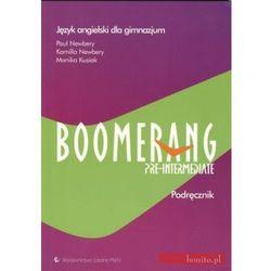 Boomerang Pre-intermediate. Klasa 2-3. Podręcznik z płytą CD-ROM (opr. miękka)