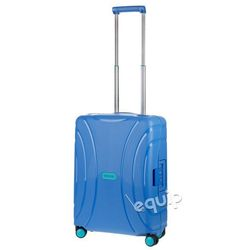 1e572274ec105 Walizka kabinowa American Tourister Lock'n'Roll + gratis poduszka podróżna  - skydiver blue