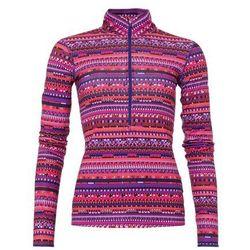 Nike Performance Bluzka z długim rękawem lt crimson/ black / court purple/(white)