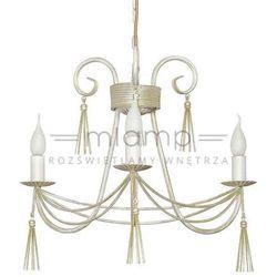 Żyrandol LAMPA wisząca TWIST 4983 Nowodvorski świecznikowy ZWIS metalowy IP20 maria teresa biały
