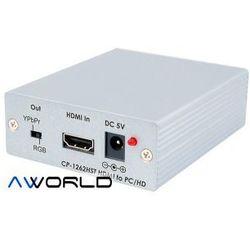 Cypress CP-1262HST HDMI to PC/YPbPr Video Converte
