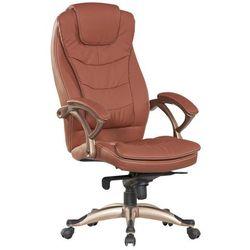 Fotel biurowy Q-065 brązowy