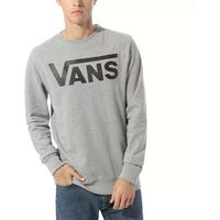 bluza VANS - Classic Crew Ii Cement Heather/Black (ADY)