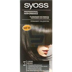 Syoss Farba do włosów 1-1 Czerń