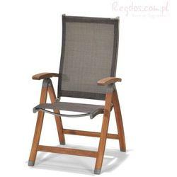 Krzesło składane z podłokietnikami Manhattan