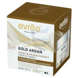 evree Facial Care Gold Argan 50+ Przeciwzmarszczkowy krem do twarzy 50 ml