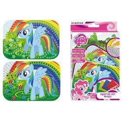 Starpak, My Little Pony, mozaika, 14,5x21 cm, zestaw kreatywny Darmowa dostawa do sklepów SMYK